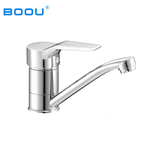 (Z8236-7A)BOOU Kitchen Sink of Whole Zinc Alloy Body Single Handle Kitchen Water Tap