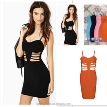 factory new arrival bandage bodycon prom 2018 new design ladies dress