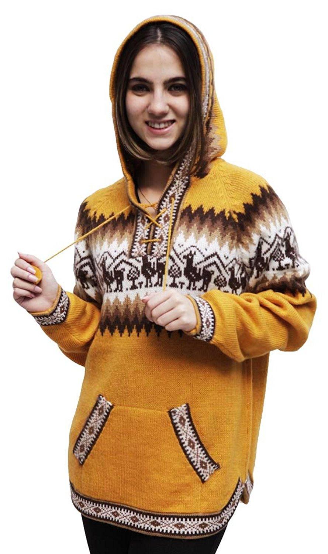 6a1545960 Cheap Alpaca Hooded Sweater