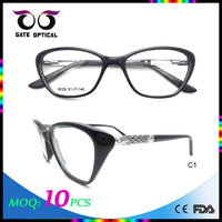 Wholesale Ready Acetate Frame, Italy Design Acetate Eyewear Optical Frame Glasses