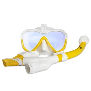 Shenzhen Diving Accessories Adults Scuba Swim Tubes Gopro Diving Mask Combo