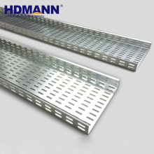 High Quality Perforated Steel 300mm Hot Dipped Galvanized Small Cable Tray Sizes