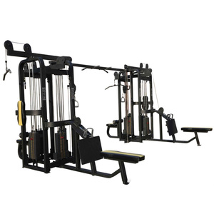 Gym cable machine 8 station multi fitness cross gym equipment