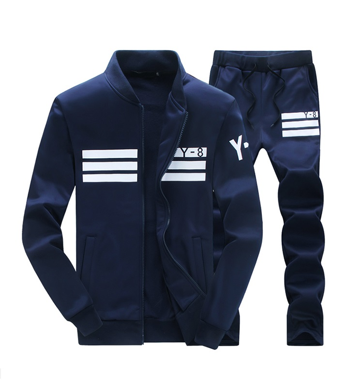 2018 spring Men fashion long sleeve Sportswear Sets with wholesale price фото