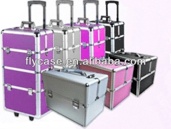aluminium trolley make up geval aluminium kappers geval rollende aluminium trolley cosmetische. Black Bedroom Furniture Sets. Home Design Ideas