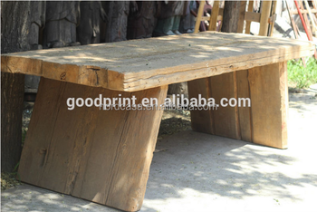 Mobili Rustici In Legno : Sala da pranzo mobili rustici in legno piano quadrato riciclata