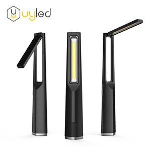 Portable table reading light Rechargeable Battery Dimmable Led Desk Lamp with USB power bank