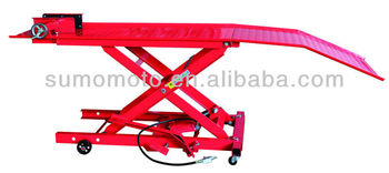 Air Hydraulic Scissor Motorcycle Lift Table And Pneumatic