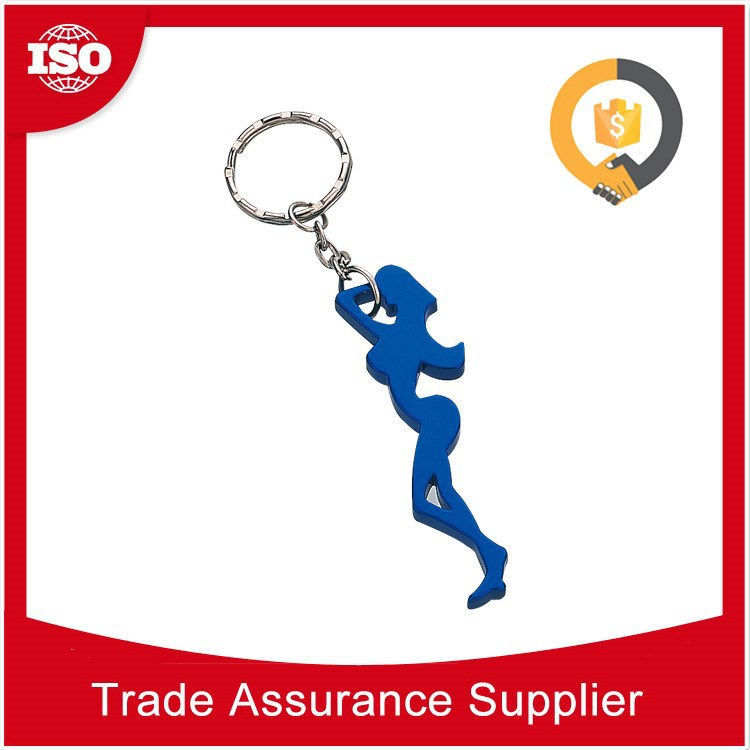 Chanceca sexy lady shape mermaid beer bottle opener keychain