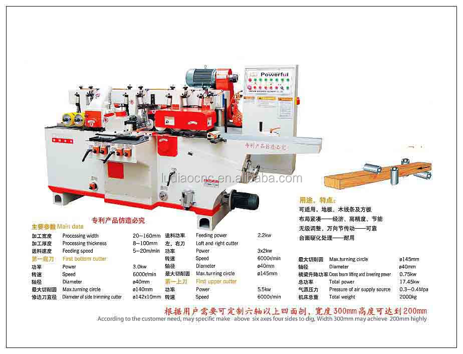 4 Side Moulder Series(High Speed)