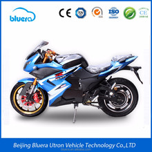 5000w Racing Electric Motorcycle with Disc Brakes 96v 60ah Battery