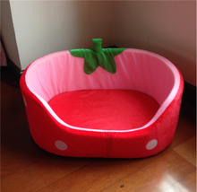 Strawberry style pet bed dog bed wholesale