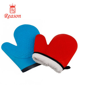 Professional Heat Resistant Pot Holder and Baking Gloves, Food Safe, BPA Free FDA Approved With Soft Inner Lining