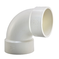 ERA ASTM D2665 UPVC PVC Drainage Fittings 90 Degree Elbow With NSF Certificate
