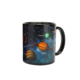CCT756 Smart Mug For Sublimation Microwave Safe Heat Temperature Sensitive Changing Coffee Mug