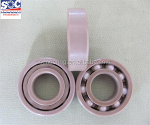 High Speed Double row angular contact ball bearing,generaly type of plastic bearings