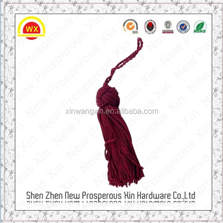 China factory hot sale knot curtain tassel