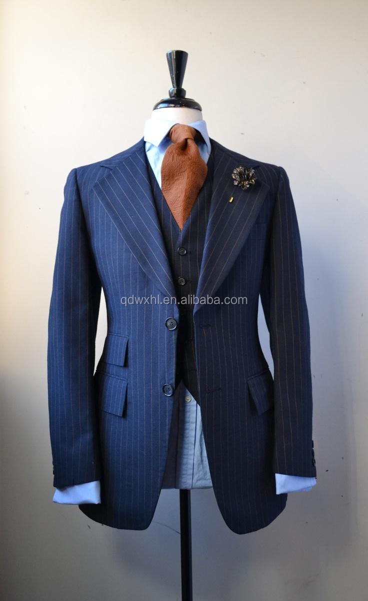 New Customized Men Suit/bespoke Tailor Mans Suits/custom Made Slim ...