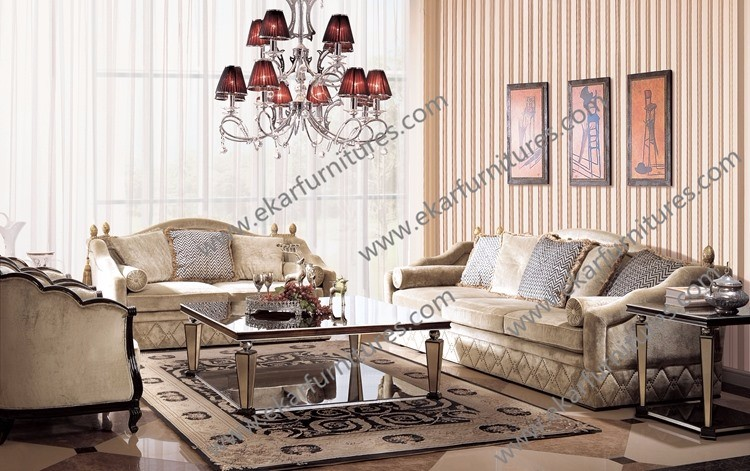 Luxury furniture living room 7 seater sofa sets designs for 7 seater living room
