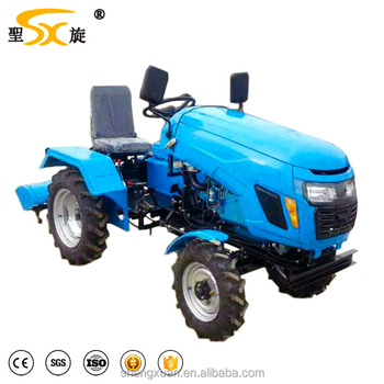 Lawn Equipment Mini Tractor With Garden Tools And Implements