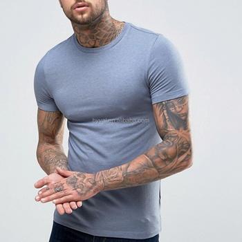 8b28536b chinese clothing manufacturers fitness undershirt wholesale 95%cotton  5%spandex white blank men's plain
