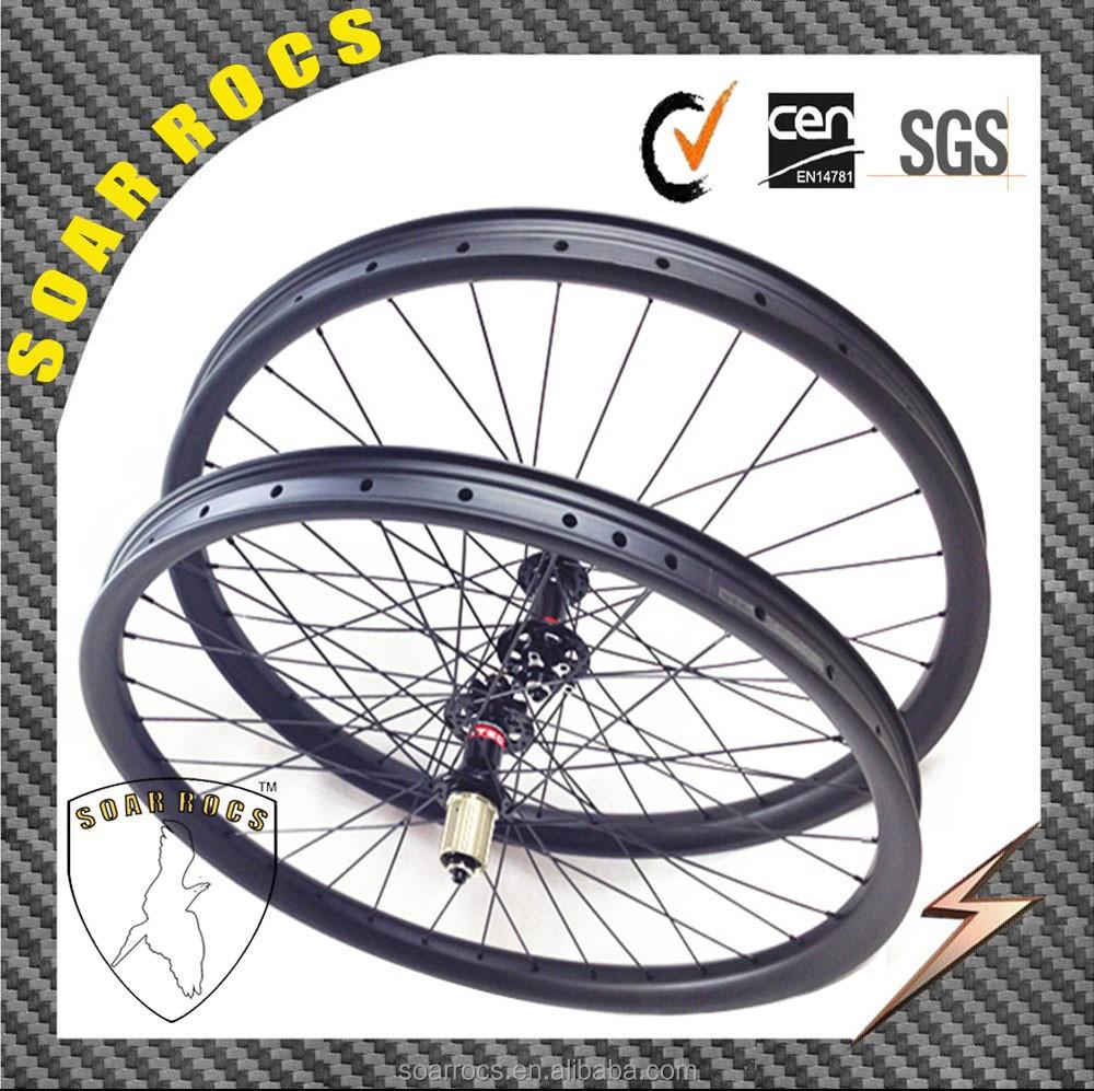 29er Mtb Wheels 35mm Width Clincher Tubeless Mountain Bike Wheeltubeless Compatible With Disc Brake Carbon Mtb Bike Wheels Buy Mtb Bike