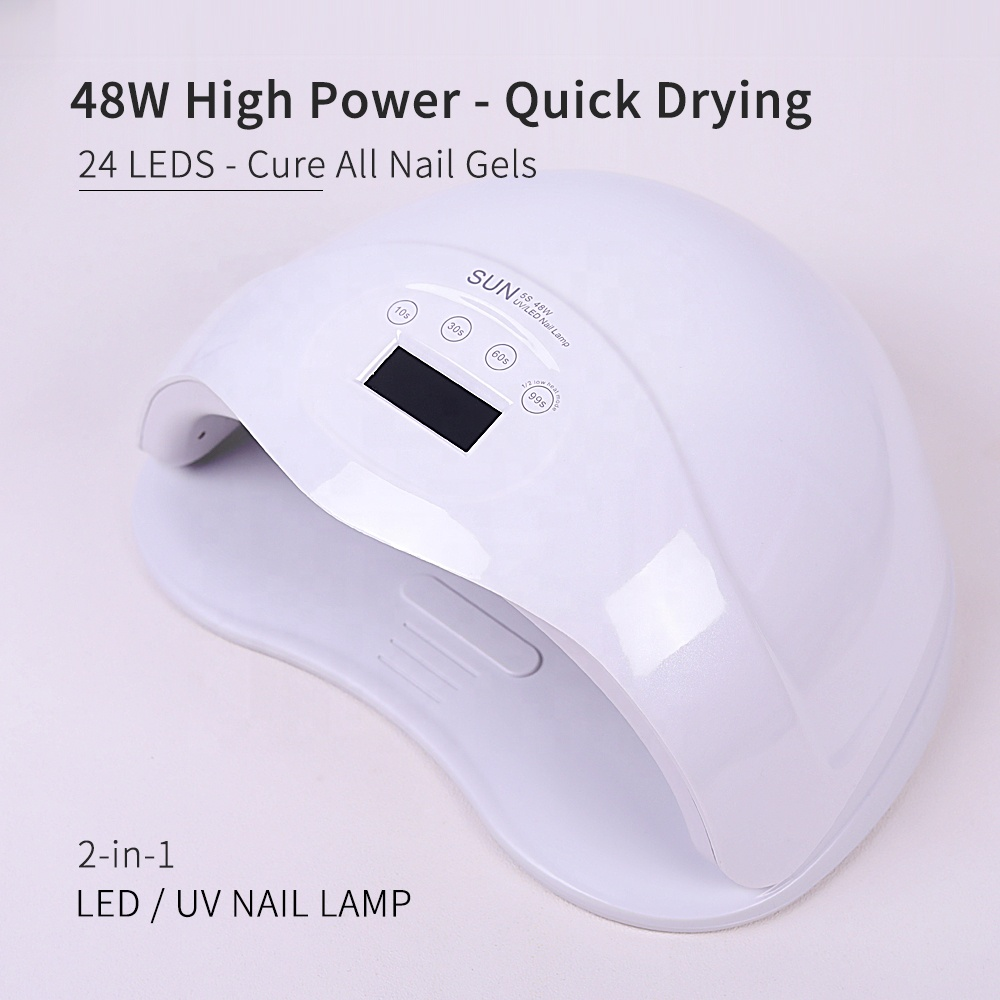 High Quality Wholesales 48w Quick-drying Sensitive Control UV LED Gel Nail Lamp