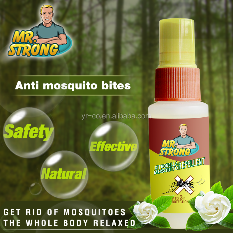 Sample free economic insects repellent spray