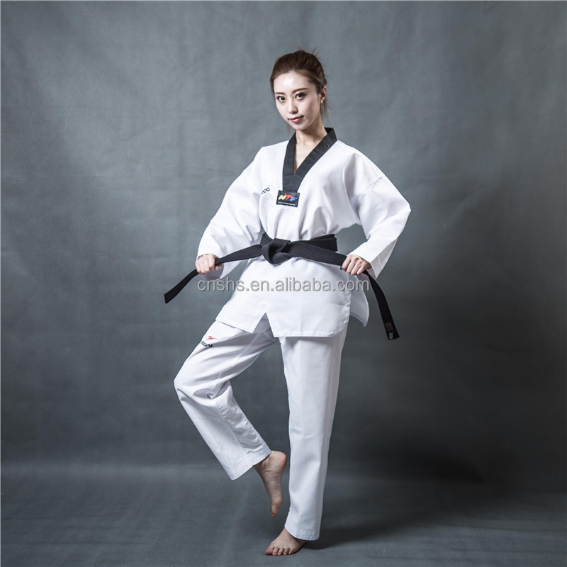 Wholesale custom Taekwondo dobok for school adults and kids
