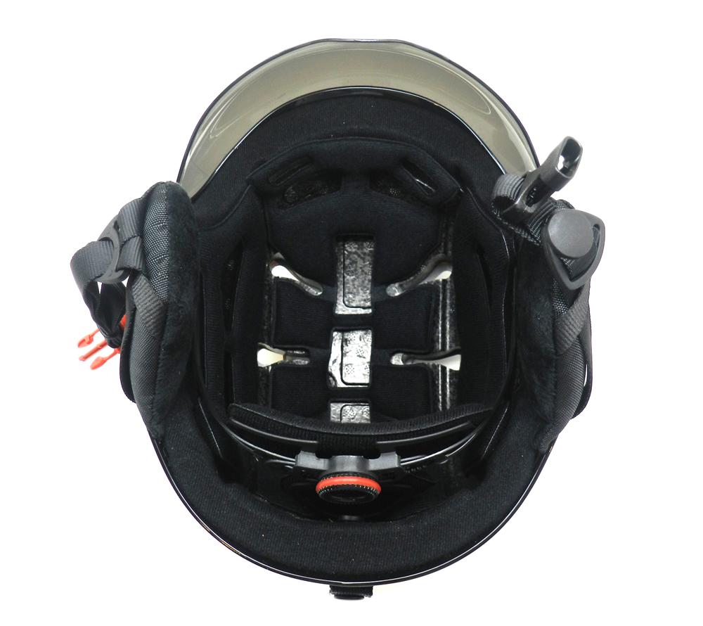 AU-S01 ski sport helmet nice look for skiing with goggle snow helmet 11
