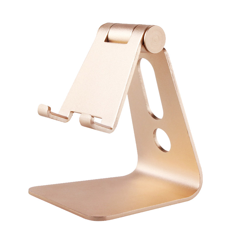 Universal Adjustable Mobile Phone Tablet Metal Desktop Dock Stand