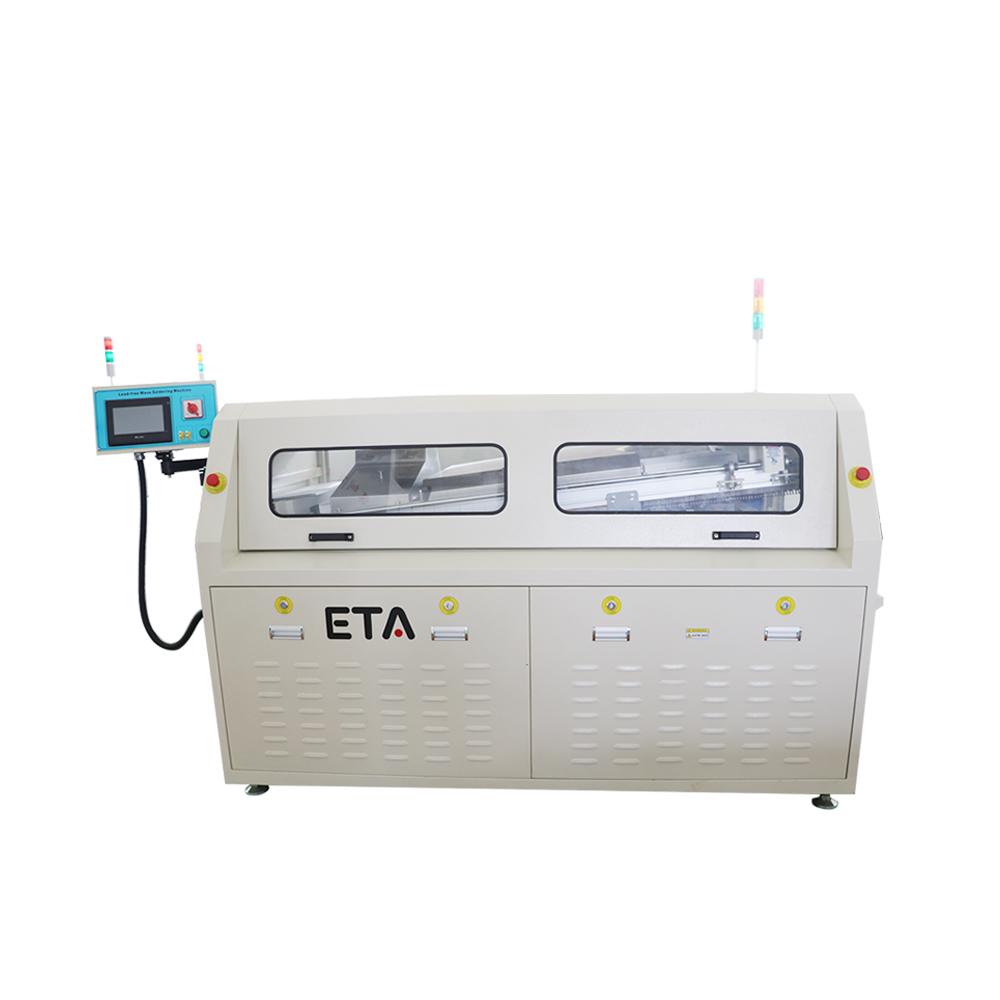 LED Light Manufacturing Line Lead-free Wave Soldering Machine for Making LED light  PCB
