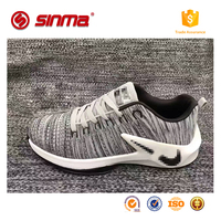 2017 new design men sport shoes cheap sneakers, china factory wholesale custom logo running shoes men