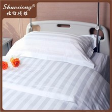 wholesale cheap single size 100% cotton hospital bed sheets