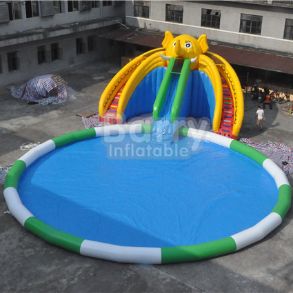 Custom Made Guangzhou Barry Water Opblaasbare Pretpark