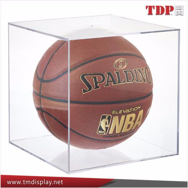 clear acrylic display cube for ball