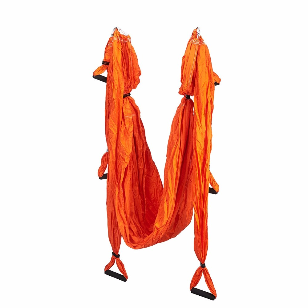 Parachute Fabric Flying Hammock Inversion Swing Yoga Fitnes Hammock