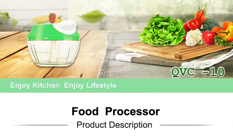 As seen on TV new kitchen manual mini plastic professional vegetable chopper dicer machine with pull cord