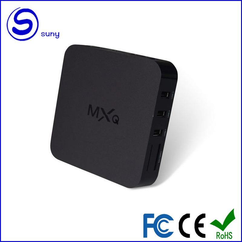 <strong>Android</strong> <strong>TV</strong> Amlogic S805 A5 XBMC Quad-Core H.264/H.265 <strong>Android</strong> 4.4 MX MXQ <strong>TV</strong> <strong>Box</strong> Miracast Airplay Smart <strong>TV</strong> <strong>Box</strong>