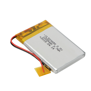 1000mAh 3.7 v rechargeable lithium polymer battery 523450 3.7Wh one cell lipo battery