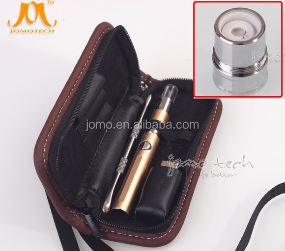 Best selling products 2017 in USA ceramic vaporizer Jomo Nvape wax vape pen starter kit from Chinese supplier