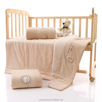 Wholesale 100% organic cotton quilt for baby, kids, child, baby blankets for autumn and winter