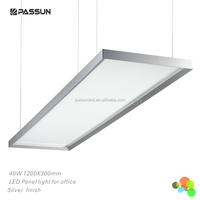 contemporary home decorative led hanging panel light