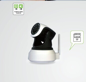 2014 New Product 1.0 Megapixel IP Wireless Home Security P2P Baby WIFI IP camera
