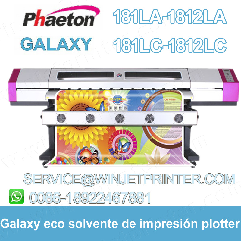3.2m digital eco solvent printer Phaeton UD3212LC DX5 printer 3212LC-F