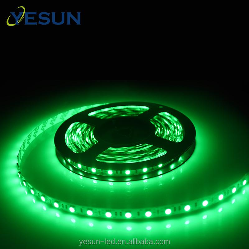 Hot sales chinese supplier green color led strip DC 12v led smd 5050 light strip