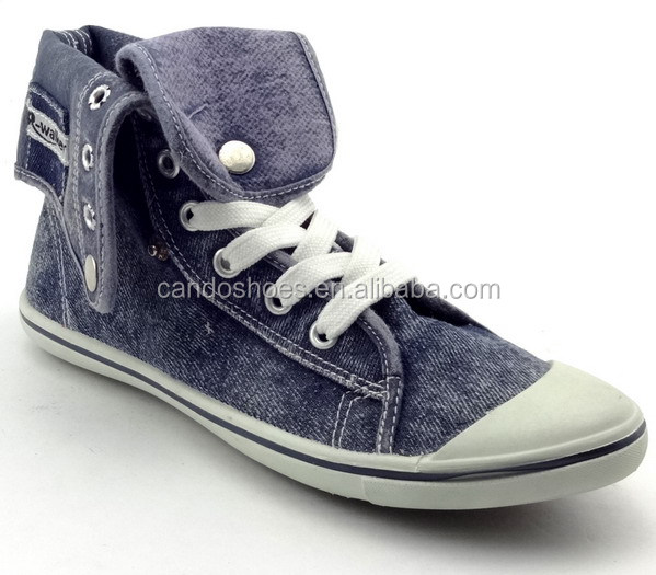 blue jean shoes high top sneakers