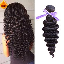 Unprocessed 6A Quality Brazilian Virgin Hair Deep Wave Human Hair Extension 3Pcs Lot Dream Remy Queen