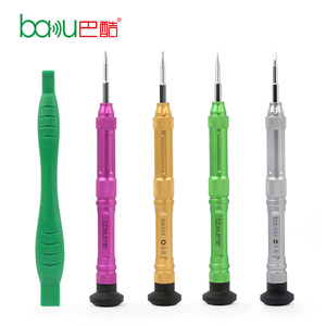 BAKU Multi-function Screwdriver Opening Kit Cell Phone Repair Tool 4 in 1 Set