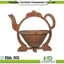 Creative Home Hot Sale wood fruit basket